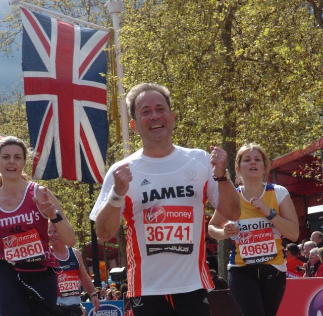 JC marathon finish